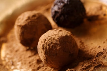 Image result for Dark Chocolate Spiced Truffles