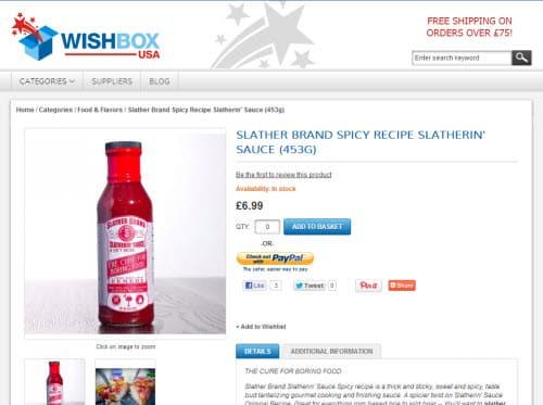 Slatherin Sauce sold online in UK at WishBoxUSA