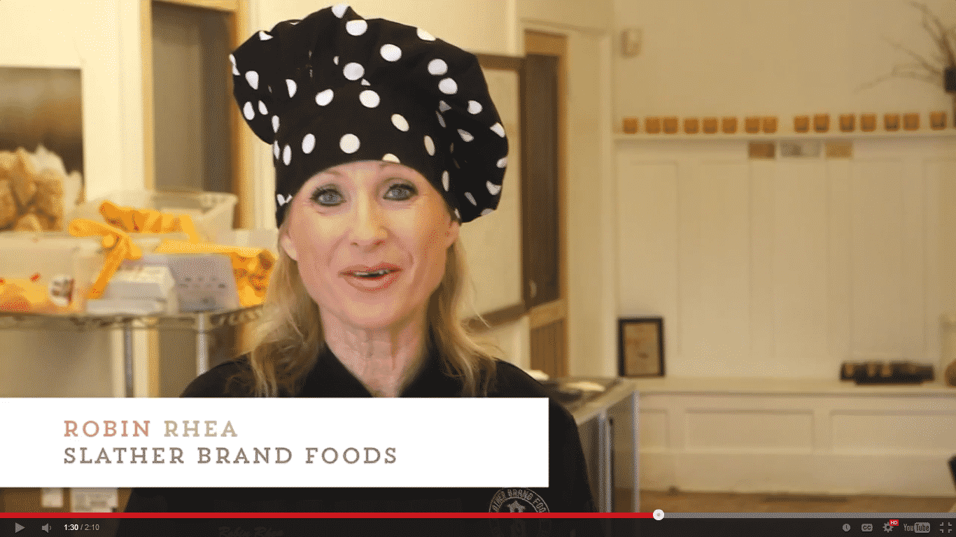 Chef Robin Rhea from Slather Brand Foods