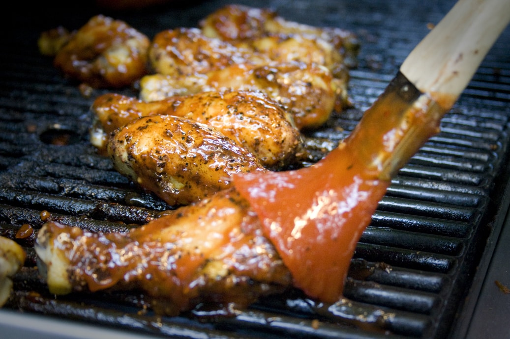 Slathered Chicken Wings