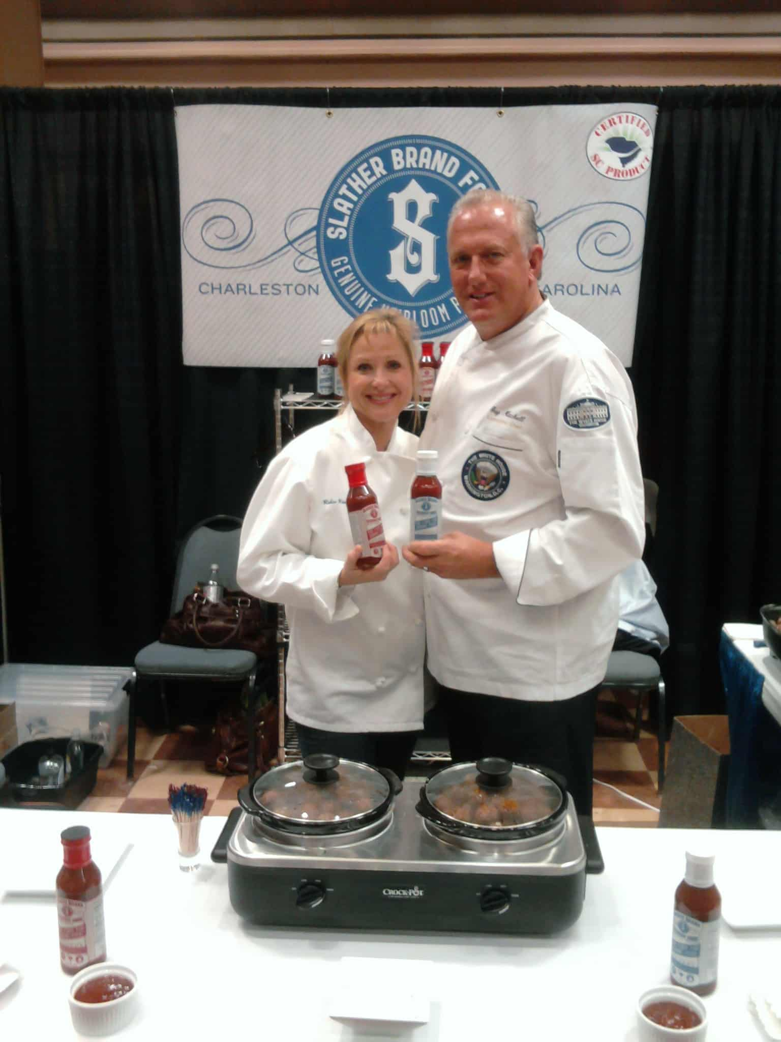 Chef Guy Mitchell and Chef Robin Rhea in Philly