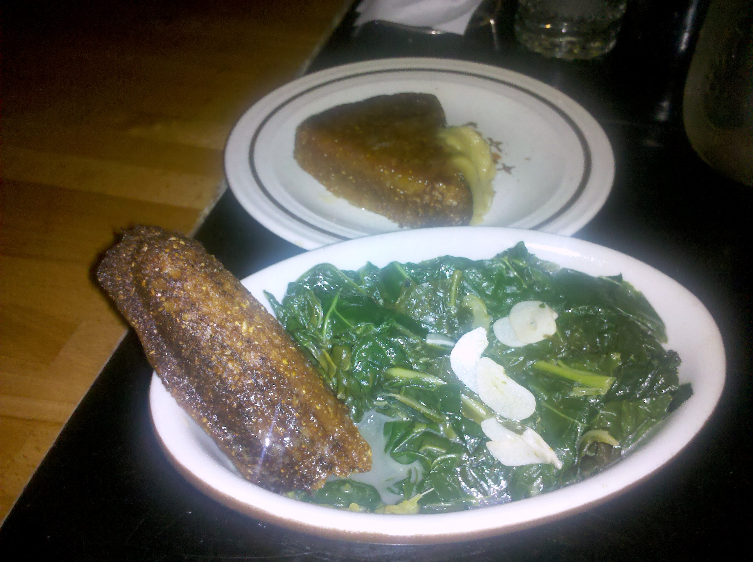 Collard Greens at Hungry Mother in Cambridge MA