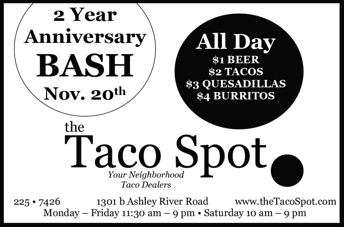 Taco Spot Anniversary Invitation